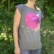 tee-shirt pour Undiz Studio Romancie